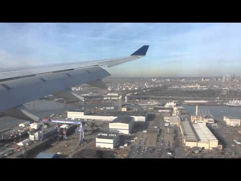 US Airways AIrbus A330-200 Landing at Philadelphia (PHL/KPHL) 27R - N284AY HD