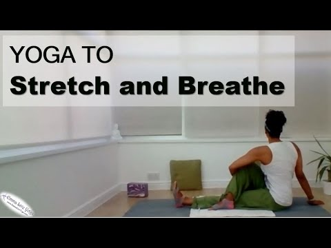 yoga to stretch breathe and relax  youtube