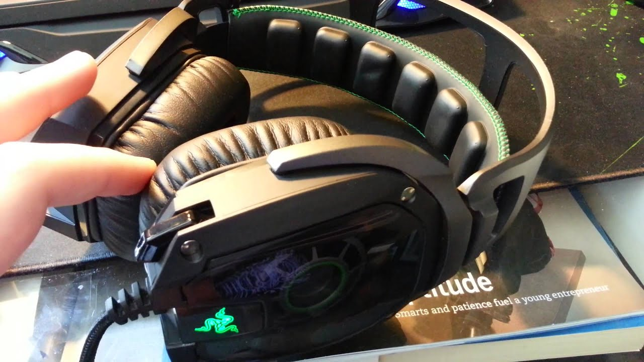 Razer Tiamat 7.1 Gaming Headset Review - YouTube