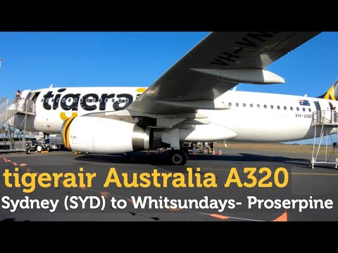 Tigerair Australia A320- Can The Legroom Be Any Better?