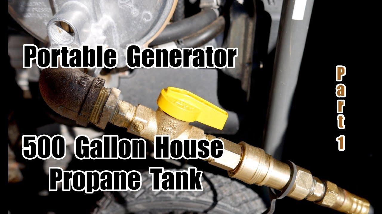 Tank to house line propane Propane installation