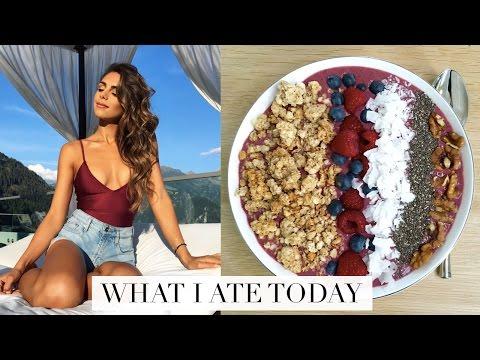 WHAT I ATE TODAY (Healthy & Easy Food Ideas!) | Annie Jaffrey