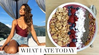 One of AnnieJaffrey's most viewed videos: WHAT I ATE TODAY (Healthy & Easy Food Ideas!) | Annie Jaffrey