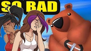 WHEN CART RACERS GO BAD | Bears Can't Drift (They Actually Can)