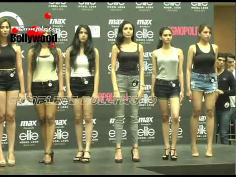 MAX Fashion In Final Round Of Mumbai Auditions 'Elite Model Look India 2015'