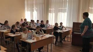 Семенихина Т И , урок музыки 3 класс