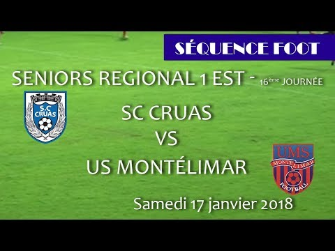 2018 02 18 44 Séquence Foot SCCRUAS MONTELIMAR