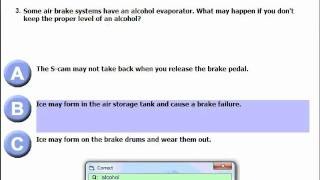 How to Ace Air Brake Test Easily.wmv