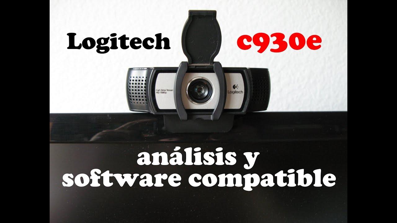 Software for logitech webcam c930e