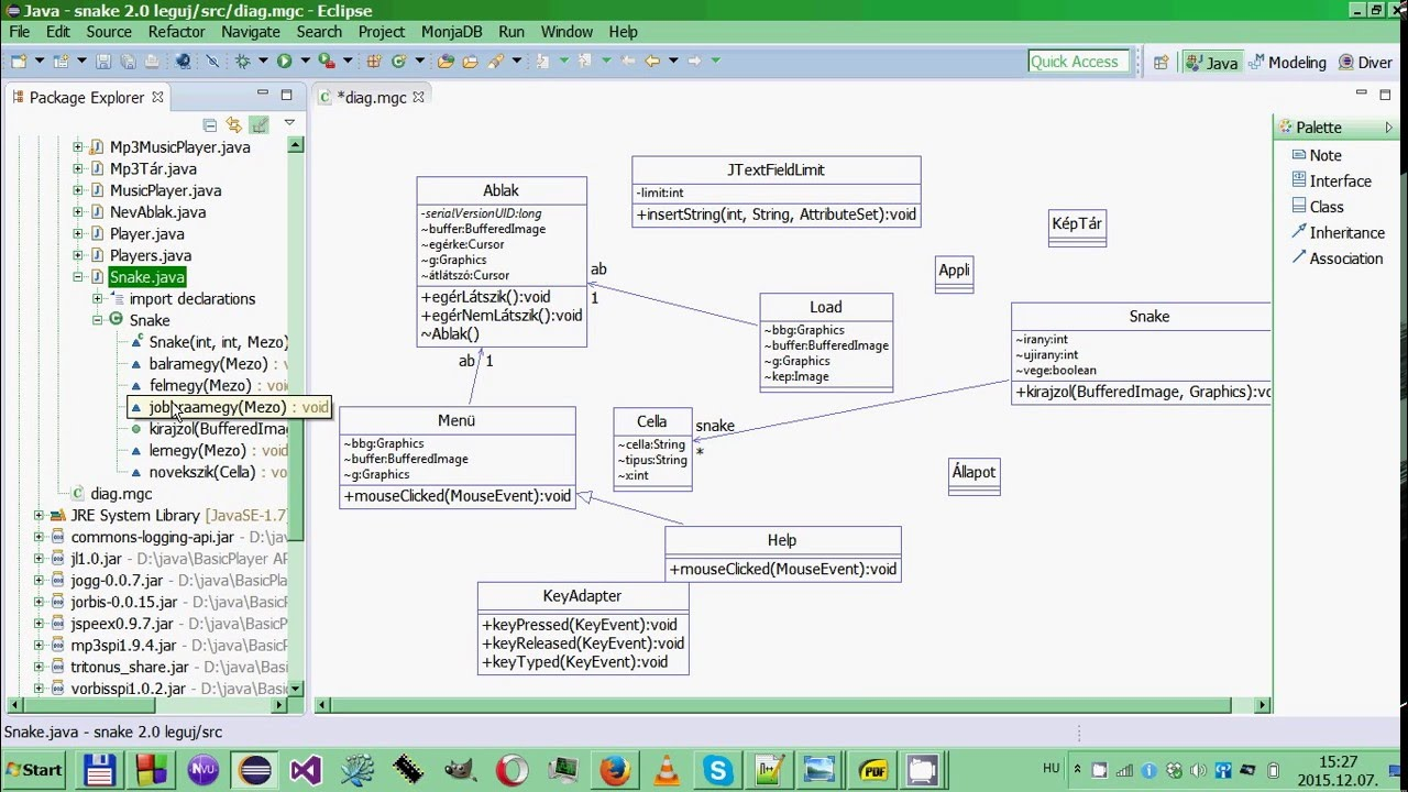 how to create class and simple sequence diagrams in eclipse kirja [ 1280 x 720 Pixel ]