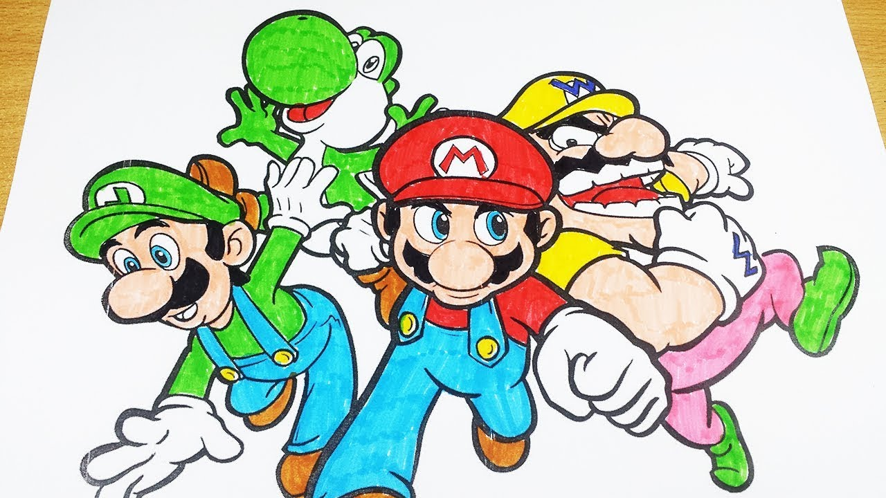 8800 Top Mario Cartoon Coloring Pages , Free HD Download