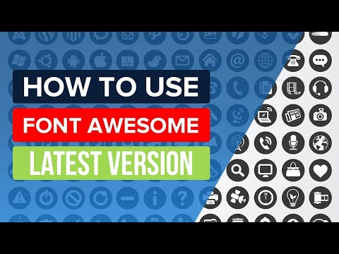 Font Awesome Tutorial | How To Use Font Awesome 5