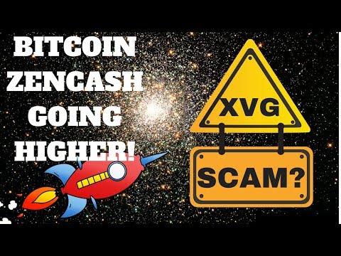 $9200 Bitcoin - XVG Private Partnership - ZEN Acting Well - ECA Giveaway