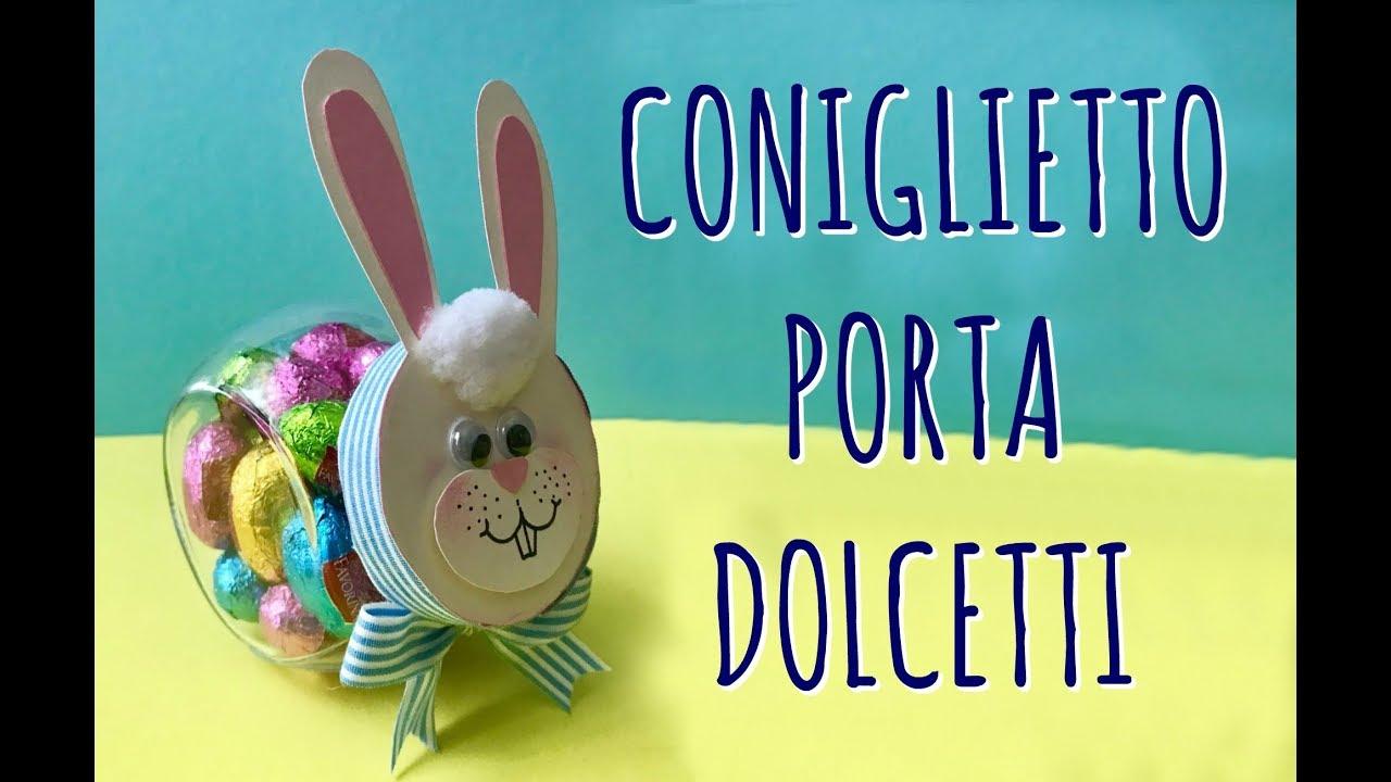 Coniglietto Di Pasqua Da Porta Spezie A Porta Ovetti Riciclo