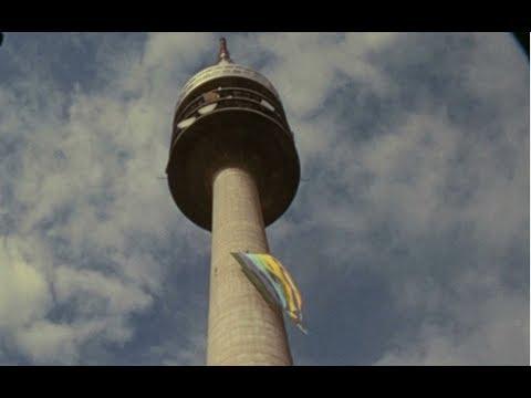 München August 1972 (Stachus, Marienplatz, Olympiapark) Privataufnahmen
