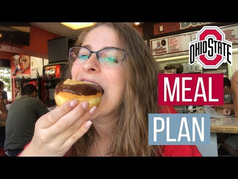 How The Ohio State University MEAL PLANS Work