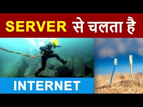 What is SERVER ?  Working of INTERNET using SERVERS  Client - Server Communication Explained HINDI