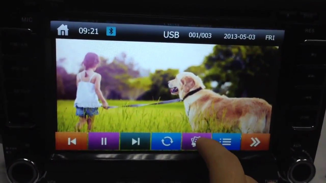 How to Set Your Own Wallpaper from Aftermarket DVD GPS Head Unit