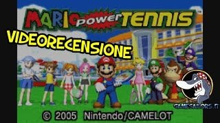 Mario Power Tennis (GBA) - Videorecensione HD Ita