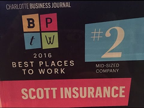 Scott Named #2 Best Place to Work in Charlotte