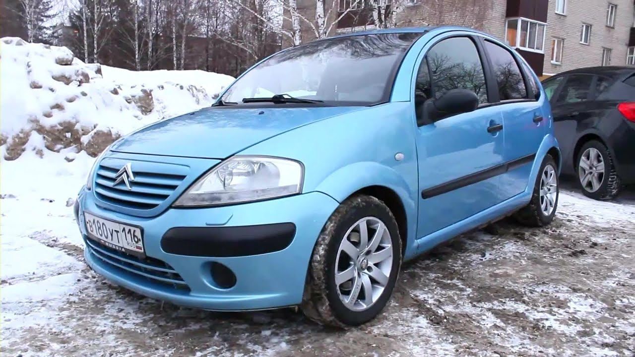 2003 citroen c3 start up engine and in depth tour youtube. Black Bedroom Furniture Sets. Home Design Ideas