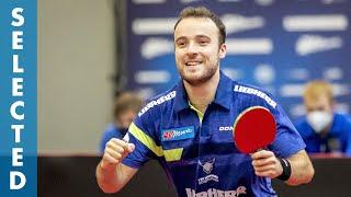 Simon Gauzy vs Vladimir Sidorenko (Selected) | Saison 2021/22