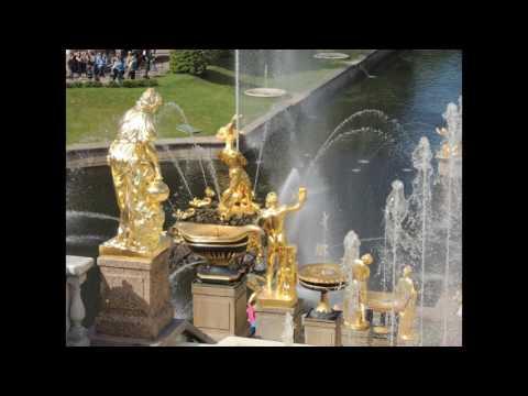 ロシアの旅の思い出<ピョートル大帝の夏の宮殿>アルバム「うつろい」から 9.時は流れ