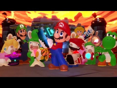 Mario + Rabbids Kingdom Battle - All Main Boss Fights