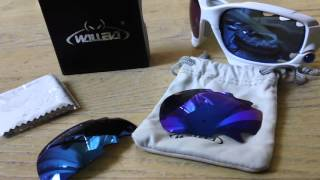 Walleva Lens Review Vented ICE Blue + Discount