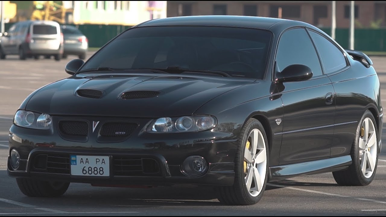 Pontiac GTO - в тени собратьев