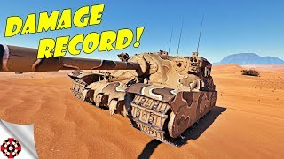 World of Tanks - Tortoise DAMAGE RECORD! (WoT Tortoise gameplay)