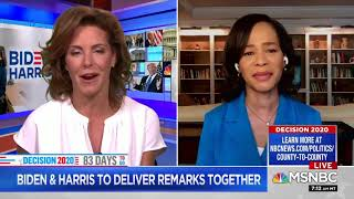 Media Debates Over Whether Kamala Harris Is 'Moderate' or 'Progressive' | SUPERcuts! #801
