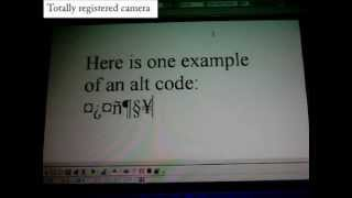 ♥♦♣♠ How To Make Alt Codes 1 ♠♣♦♥