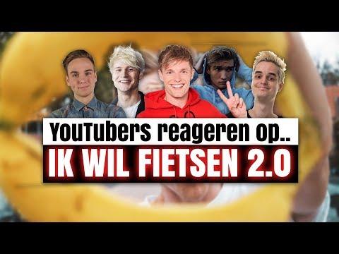 YOUTUBERS REAGEREN OP.. IK WIL FIETSEN 2.0
