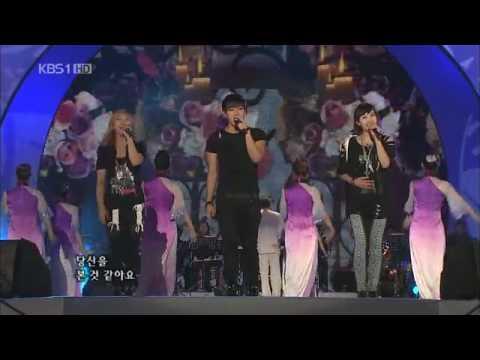 100725 KBS Open Concert @ Shenyang (2PM Junsu; F(x) Luna, Victoria)