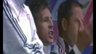 Claude Puel insulte les joueurs Caennais lors de Caen Lyon 20100815