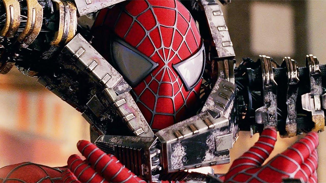 Spider-Man vs Doc Ock - Bank Fight Scene - Spider-Man 2 (2004) Movie Clip HD
