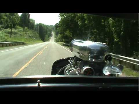 Driving Blown 454 32 Ford Coupe Hotrod