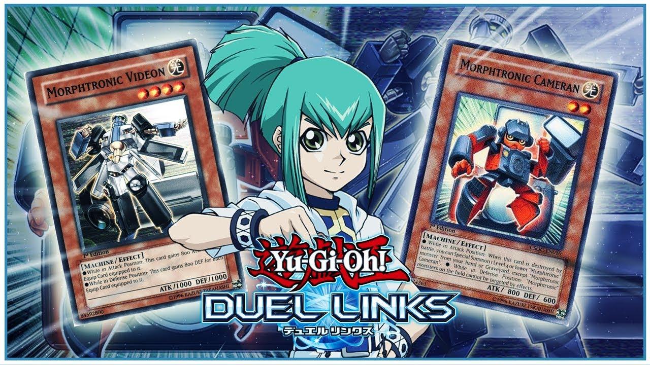 [Yu-Gi-Oh! Duel Links] HUGE LEAKS! LEO (RUA) CARDS! MORPHTRONICS GOOD IN  DUEL LINKS?!