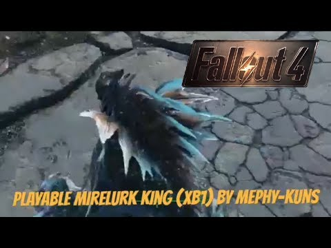 Fallout 4 Xbox One Mods|Playable Mirelurk King (XB1)