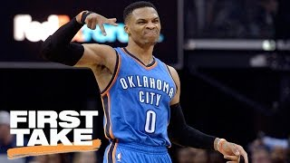 Max Kellerman: People Are Getting Carried Away Over Russell Westbrook | First Take | April 7, 2017