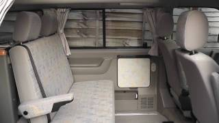 VW Westfalia California Exclusive Interior