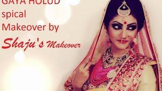 Bride | Yellow Night | Marjha Ceremony | Gaye holud make over by shefa ahmed shaju