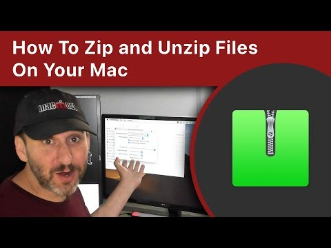 How To Zip And Unzip Files On Your Mac