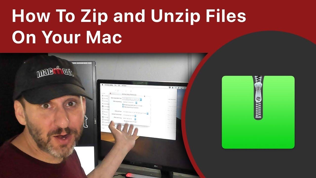 Mac Unzip All Files In Folder