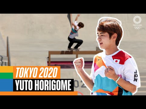 🛹 The BEST of Horigome Yuto at the Olympics 🇯🇵