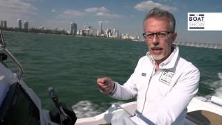 ZAR 87 Welldeck test in Miami (Florida) The Boat Show