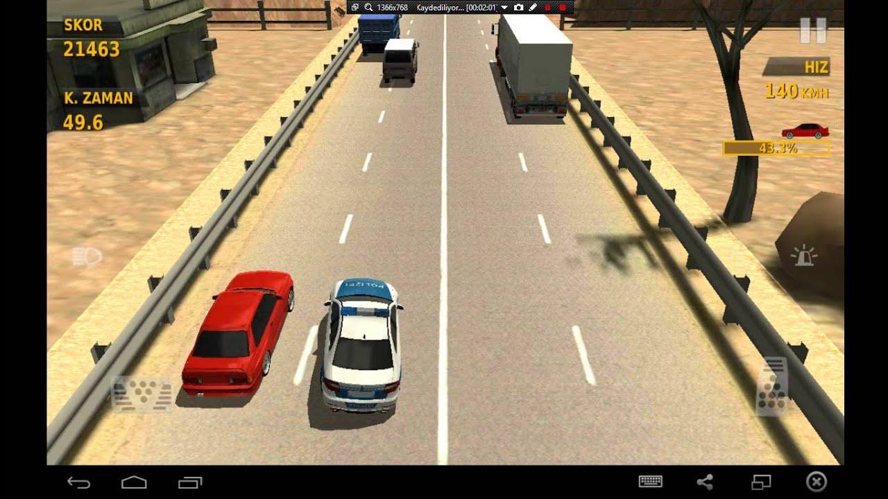 Traffic Racer Polis Modu Youtube