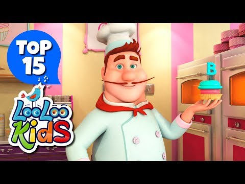 Pat-a-Cake - TOP 15 Songs for Kids on YouTube