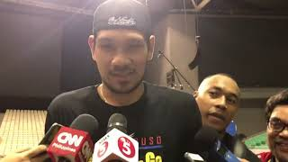 Sports | Jun Mar Fajardo to Calvin Abueva: Buang :)